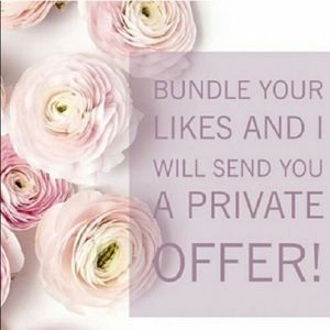 Other - 🌷Bundle your likes for a private offer.🌷
